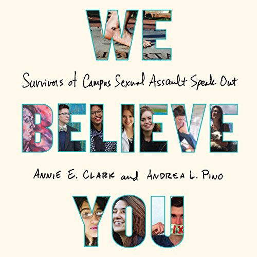 We Believe You audiobook cover art