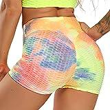 STARBILD Shorts de Fitness Moda Mallas Pántalones Cortos Deportivos de Skinny Elástico Alta Cintura para Mujer Yoga...