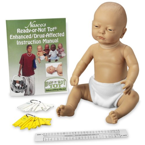 Ready-Or-Not Tot Baby Manikin - Enhanced White Female