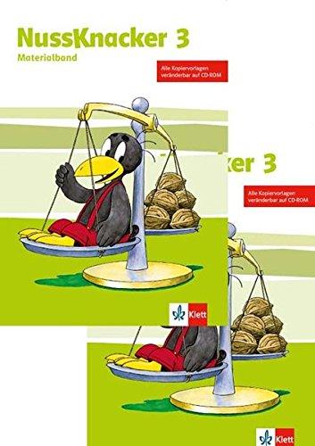 Nussknacker 3: Paket Lehrer (Teil 1 + Teil 2) mit CD-ROM Klasse 3 (Nussknacker. Ausgabe ab 2015)