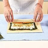 AGAN Estera de bambú Hogar Kit para Preparar Rollos de Herramientas Mayorquinas para la fabricación de Rodillos de moldeo de arroz y Cortinas para el Fabricante