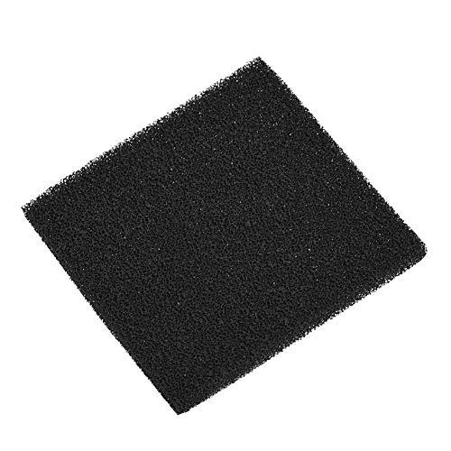 LANTRO JS - 10 piezas de esponja de filtro de carbón activado para aparatos de humo de escape de soldadura, filtro de humo de carbón activado, esponja de filtro de soldadura
