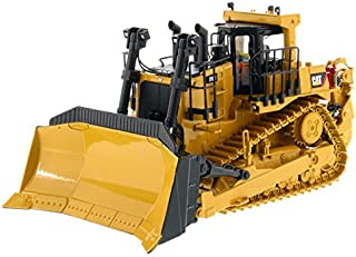 Diecast Masters CAT Caterpillar D10T2 Track Type Tractor Dozer with Operator High Line Series 1/50 Diecast Model
