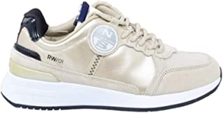 North Sails Recycled Nylon Sneakers Gold