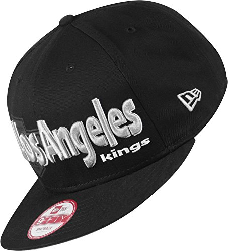 New Era - Casquette Snapback Homme 9Fifty NHL Dough Word - Los Angeles Kings - Taille S/M
