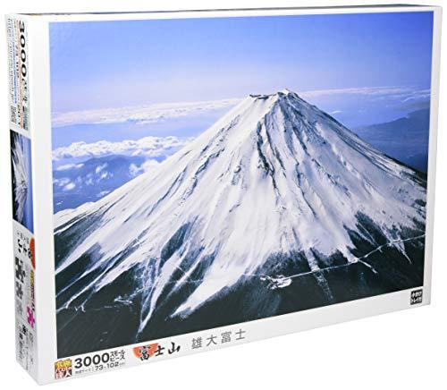 3000ピース ジグソーパズル 雄大富士 スモールピース (73x102cm)