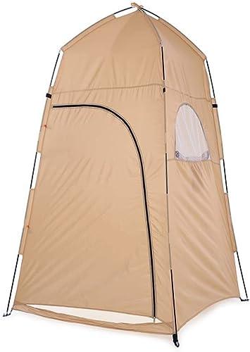 MRC Tente Baches Portable Extérieur Douche Bain Tente Remplacement Cabine De Prougeection Tente Abri Camping Plage Confidentialité Salle De Bains Tente