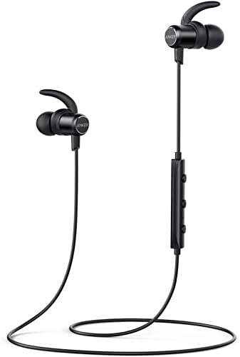 Anker Soundbuds Slim Wireless Headphones, Bluetooth 4.1 Lightweight Stereo Earbuds with Magnetic Connection, Nano Coa...