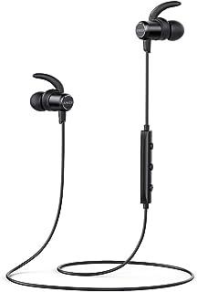 سماعات رأس ساوند بادز رفيعة لاسلكية من انكور، تعمل بتقنية البلوتوث مع اتصال مغناطيسي