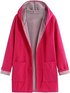 Loosebee◕‿◕ Womens Long Sleeve Fahion Coat Jacket Medium Long Large Size Loose Front Open Coat Coats