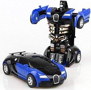 سيارةالمتحولون - العاب اطفال - صوت - ضوء - حركة - تحول انسان ألى