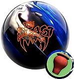 Columbia 300 Beast Blue/Black/White Bowling Ball (12)
