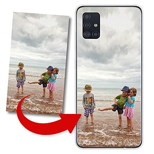 KX-Mobile Hülle für LG K50 Handyhülle personalisiert mit deinem Wunschmotiv Schutzhülle aus weichem Silikon TPU Softcase