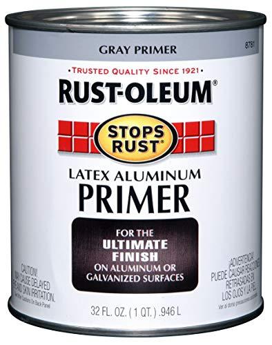 Rust-Oleum 8781502 Stops Rust Flat Aluminum Primer, 32 Fl Oz (Pack of 1)