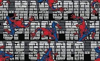 Mode Textile Tissus Ecusson Thermocollant Marvel Spiderman 139 5,5 x 7 cm