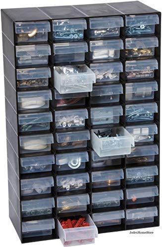 Britten & James 40 Cassettiera in plastica per Piccoli Oggetti. Perfetto per casa, Garage o capannone. Mantiene Le Cose organizzate e in Ordine. Resistente e Durevole, Quindi durerà per Anni.
