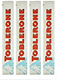 TOBLERONE WHITE, GIANT LIMITED EDITION, 4 x 360 g, Switzerland, total 1.44 KG