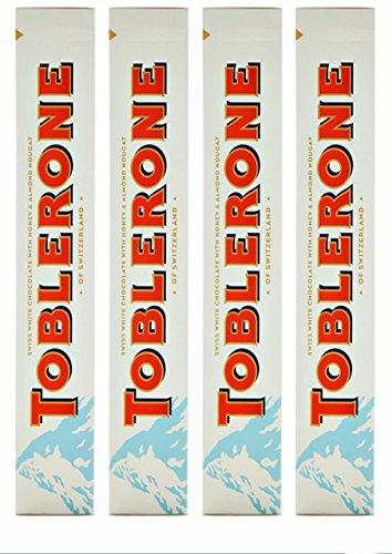 Toblerone White, Edición Limitada Gigante, 4 piezas con cad