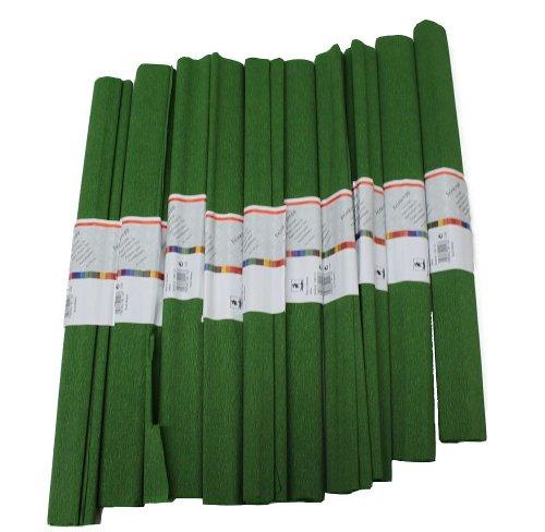 Staufen 617159 - Krepppapier 10 Rollen 50 x 250 cm kaktus