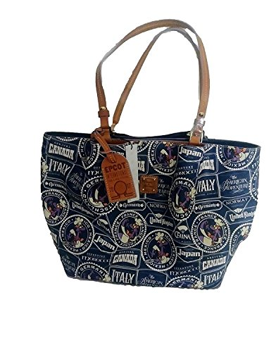 Disney Dooney and Bourke 2017 Epcot Food And Wine Festival Tote Purse