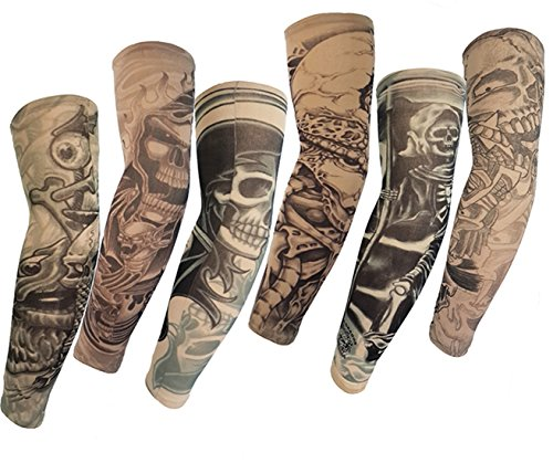 Tatuaje temporal Autek Hot 2015, alta calidad, talla M, 6 unidades
