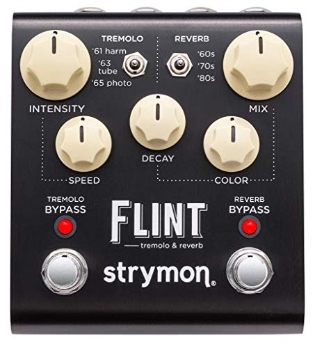 STRYMON FLINT Tremolo & Reverb Guitar Effects Pedal