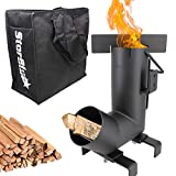 Best Rocket Stoves - Camping Rocket Stove by StarBlue with FREE Carrying Review