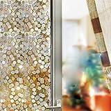 Wffo sin Pegamento estático Decorativo privacidad Ventana películas ♚ ♚ Espejo Solar Ventana película Aislante hogar Oficina Coche privacidad Anti UV Reflectante