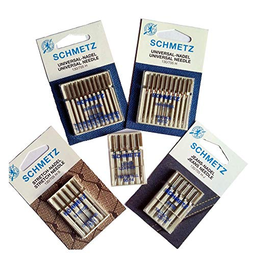 SCHMETZ Accessori Cucito: Kit di Aghi per Macchine da Cucire