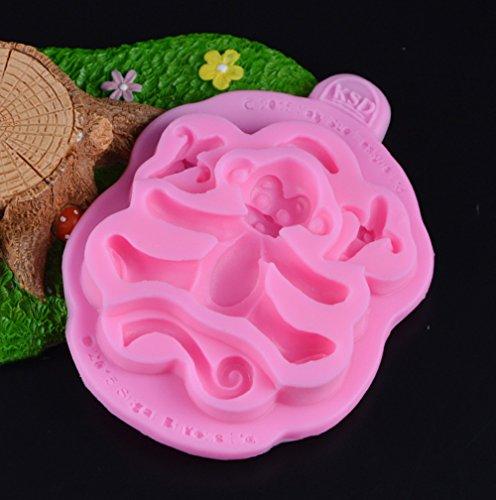Neutral 3D Singe Moule en Silicone Fondant Gâteau Moule Gâteau Savon Chocolat Chocolat Cuisine Accessoires