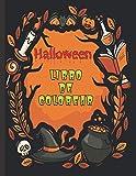 Halloween Libro de colorear: Un libro para colorear para niños con bellas imágenes | Criaturas de...