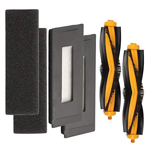 Rollenbürstenfilter für Teile des Staubsaugers Ecovacs OZMO 930 / DEEBOT M88 hält die Kehrmaschine sauber