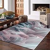 MMHJS Textiles para El Hogar/Alfombras Rectangulares De Plumas/Alfombras para Dormitorio Y Sala De Estar/Agradable A La Piel/Slip-Slip 160x230cm