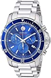 Movado Men's Series 800 Sport Chronograph Watch with Printed Index Dial,...