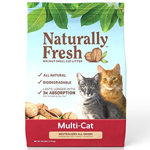 Naturally Fresh Cat Litter - Walnut-Based...