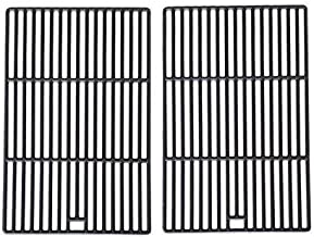 Cast Iron Cooking Grid Replacement for Arkla, Charmglow, Turco, Perfect Flame and Great Outdoors Gas Grill Models, Set of 2