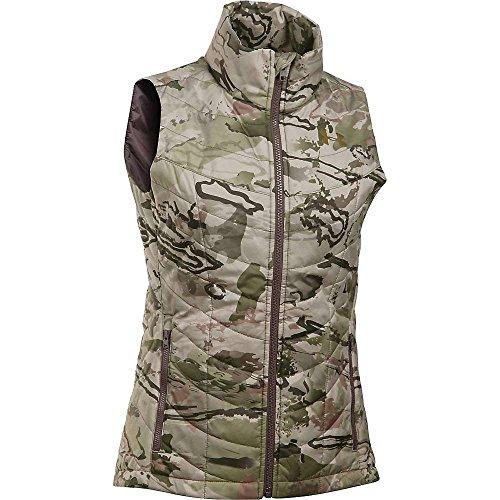 Under Armour Frost Puffer Vest - Women's Ridge Reaper Camo Barren/Metallic Bronze XXL
