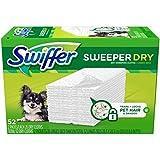 Swiffer Sweeper Dry Dry Sweeping Pad Pet Refills 52 ct Box