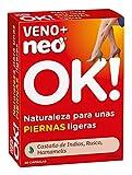 NEO | Veno + Complemento Alimenticio - 30 Cápsulas | A Base de Castaño de Indias Rusco Hamamelis | Para Reducir la Sensación de Piernas Cansadas | Favorece a una Mejor Circulación | 1 Cápsula al Día