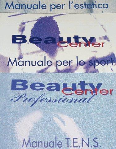 Manuali IT per Beauty Center Biosan 212, 250 programmi sport estetica tens