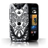 Stuff4 Phone Case for HTC Desire 310 Aztec Animal Design