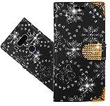 HTC U12+ / U12 Plus Handy Tasche, FoneExpert® Wallet Hülle Cover Bling Diamond Hüllen Etui Hülle Ledertasche Lederhülle Schutzhülle Für HTC U12+ / U12 Plus