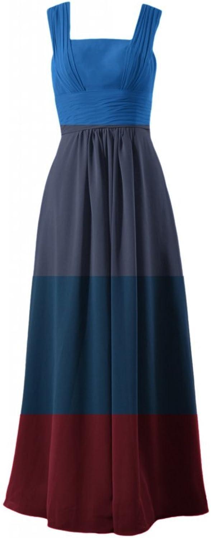 DaisyFormals® Square Neckline Bridesmaid Dress Long Evening Dress(BM9826)