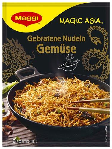 6x Maggi - Magic Asia Gebratene Nudeln Gemüse