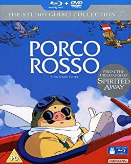 Porco Rosso (Blu-Ray+DVD) [Import]