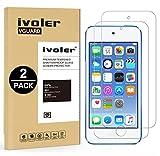 ivoler [2 Unidades] Protector de Pantalla para Apple iPod Touch 7/6 / 5 (7th,...