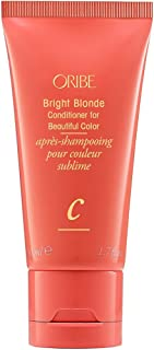 Oribe Bright Blonde Travel Size Conditioner for Beautiful Color, 50 mL
