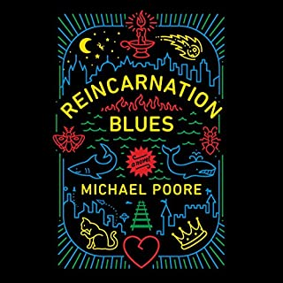 Reincarnation Blues audiobook cover art