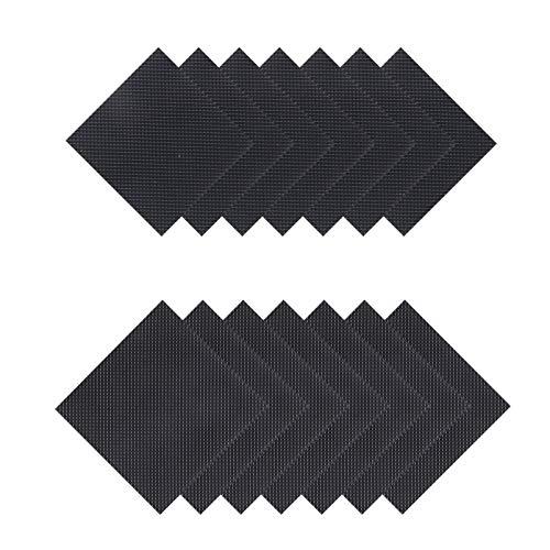 Holibanna 20PCS Selbst- Adhesive Anti- Slip- Stick- Pad Non- Slip Schuhe Pad Schuh Griffe Gummi Anti- Slip Noise Reduktion Schuh Griffe Sohle Stick Protector