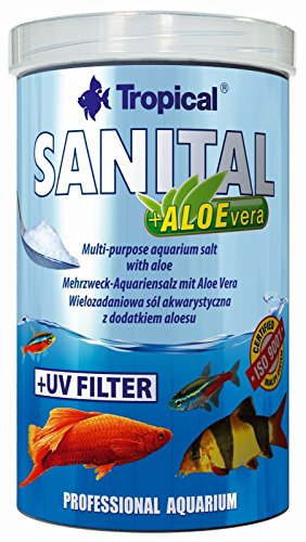 Tropical TR Sanital+Aloevera Sól Do Akwarium 1000Ml/1200G 80326/6 1000 ml